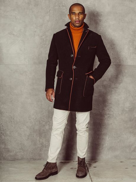 Cappotto Henry blu