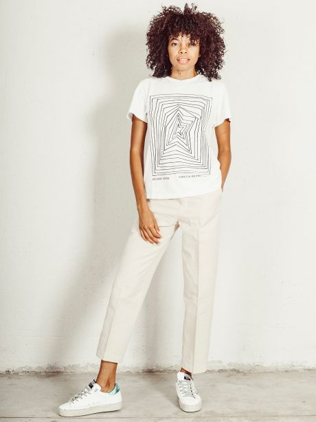 T-shirt Ania con stampa