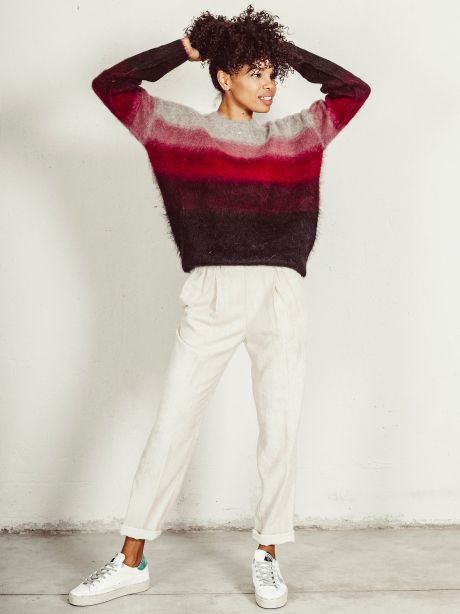 Drussell pullover lampone