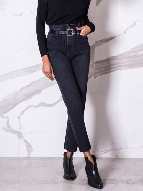 LiuJo Jeans mom fit con cintura