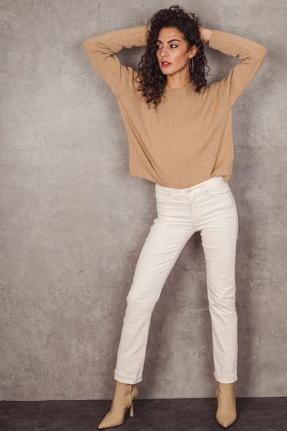 7 for all mankind Pantalone The Straight in velluto