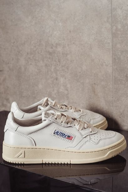 Autry Donna Sneakers low in pelle bianco