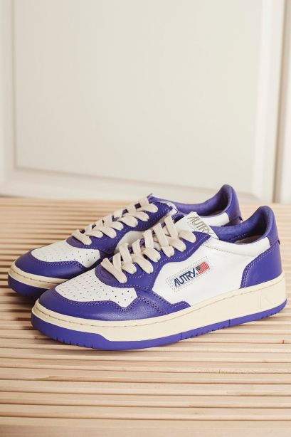 Autry Sneakers donna in pelle viola