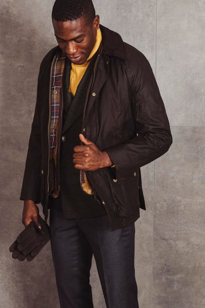 BARBOUR Giacca ASHBY WAX