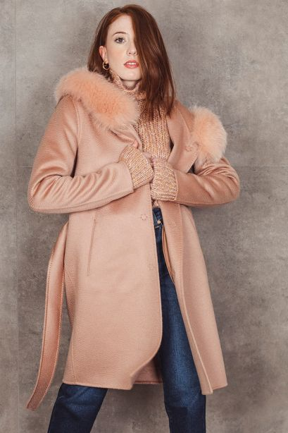 HERNO Parka in cashmere double resort