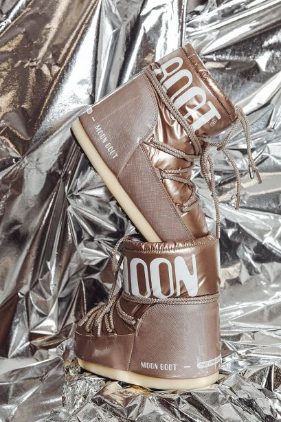MOON BOOT Icon Low Pillow rose-gold Boots
