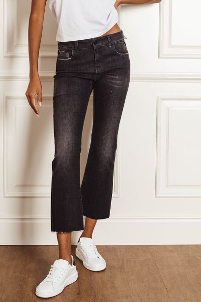 Replay Jeans slim fit cigarette crop faaby