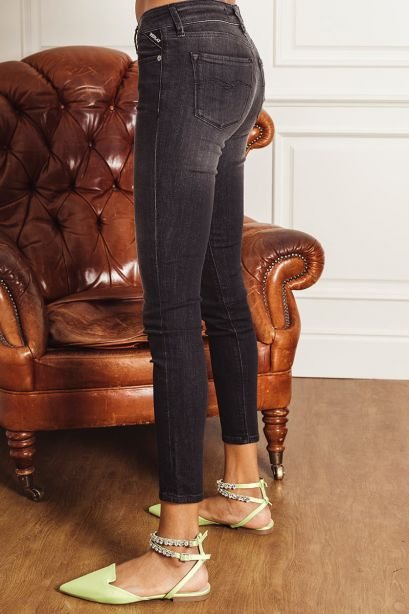 Replay Jeans skinny fit new luz rose label