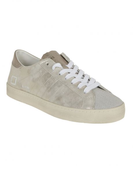 D.A.T.E. Sneakers donna HILL LOW STARDUST PLATINUM