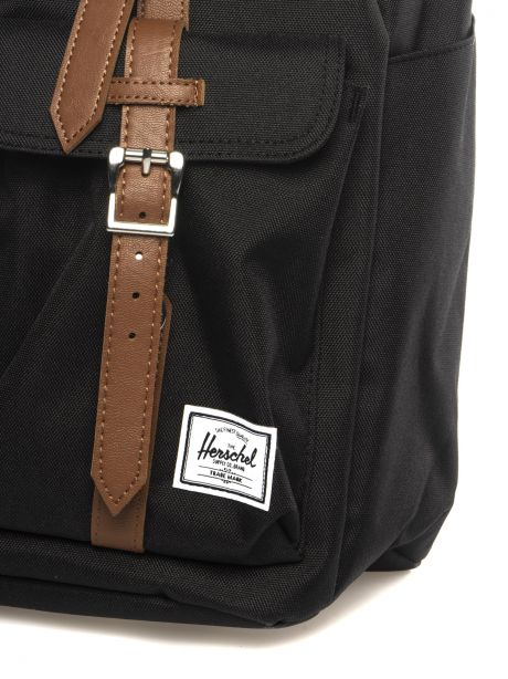 HERSCHEL Zaino Buckingham nero/marrone