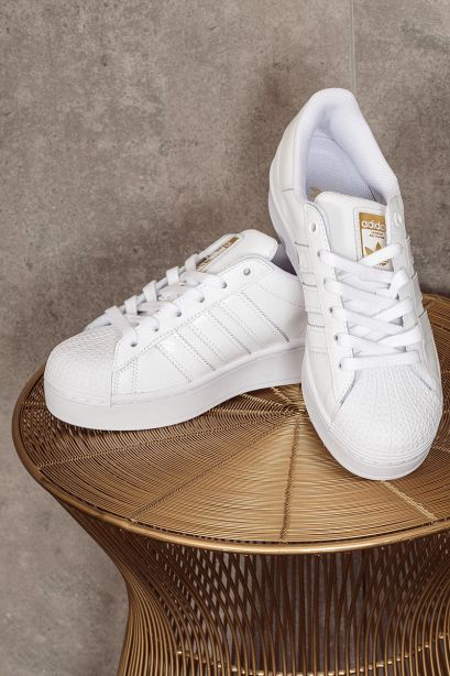ADIDAS Sneakers donna SUPERSTAR BOLD cloud white