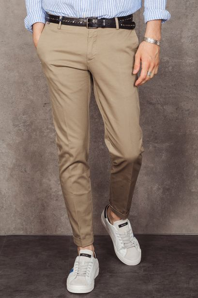 AT.P.CO. Pantalone chino beige