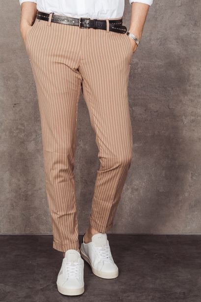 AT.P.CO. Pantalone chino a righe