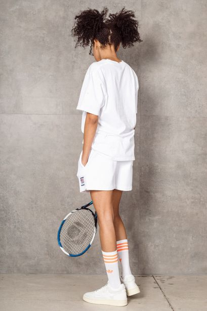 AUTRY T-shirt bianca con stampa