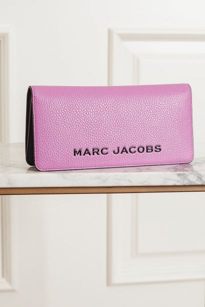 MARC JACOBS THE BOLD OPEN FACE WALLET nero