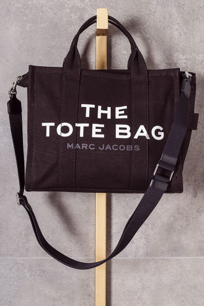 MARC JACOBS Borsa The small traveller tote bag nera