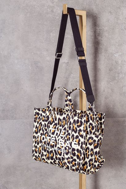 Marc Jacobs The leopard small traveler tote bag