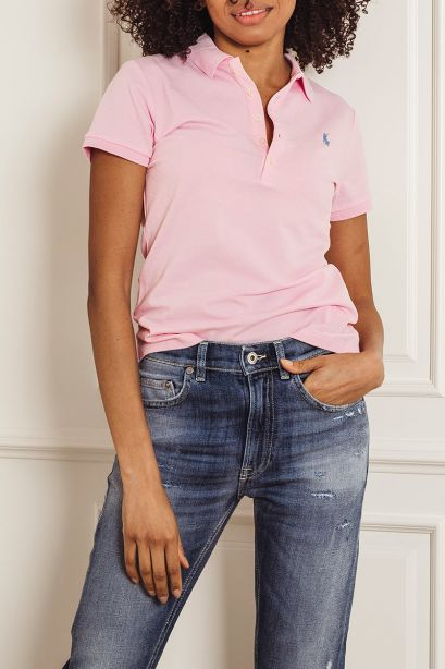 POLO RALPH LAUREN Polo Slim-Fit pink