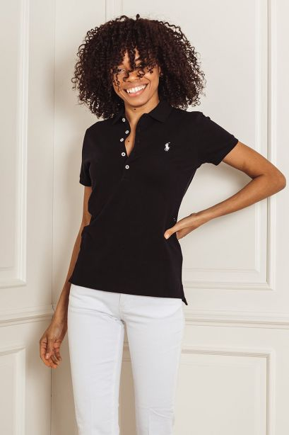 POLO RALPH LAUREN Polo Slim-Fit black