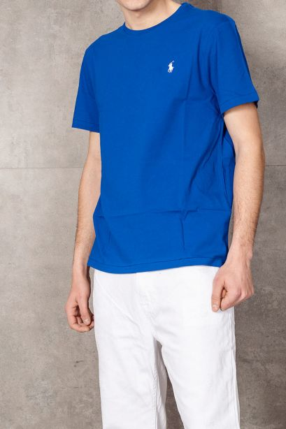 POLO RALPH LAUREN T-shirt Custom Slim Fit sapphire star