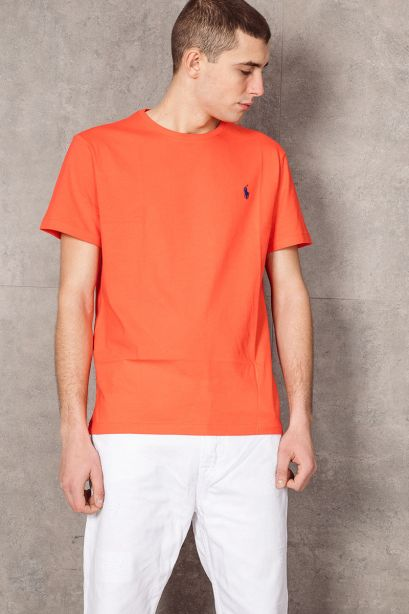 POLO RALPH LAUREN T-shirt Custom Slim Fit orange