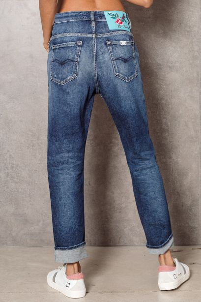 Replay Jeans Boyfit marty rose label