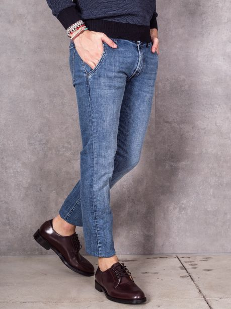 Roy Roger's Jeans fit lavaggio medio