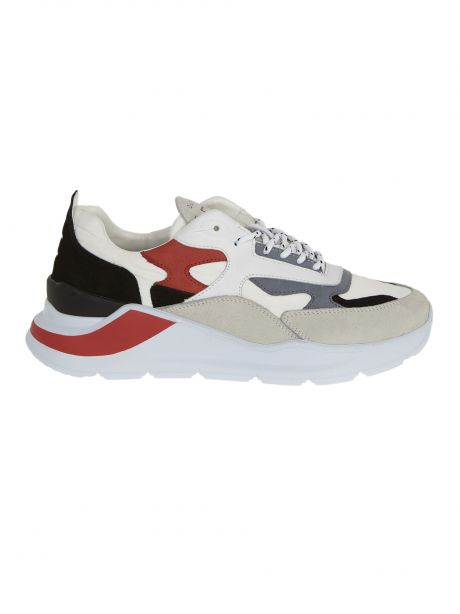 D.A.T.E. Sneakers uomo FUGA DOLMIAS WHITE-BLACK