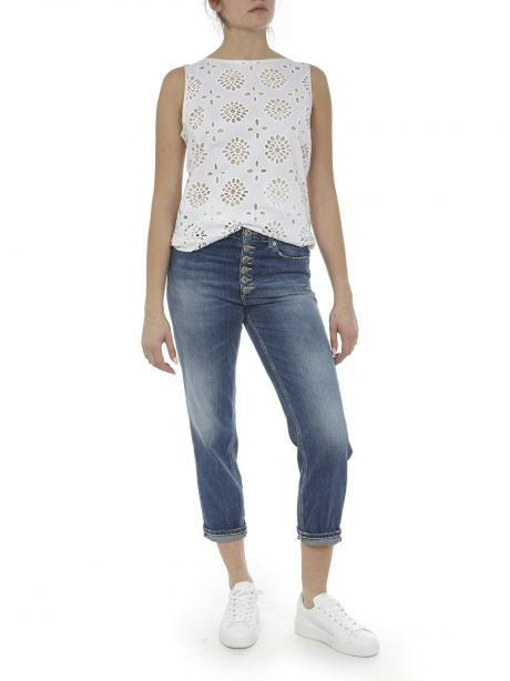 DONDUP Jeans Koons loose fit indaco medio