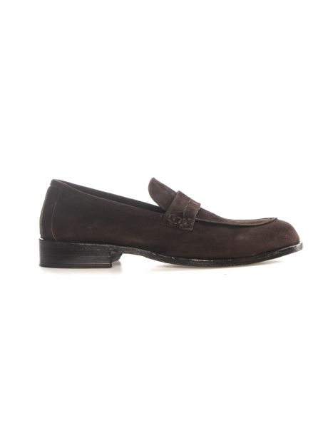 Florsheim Mocassino Canyon marrone scuro