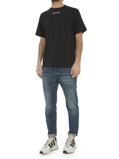 GOLDEN GOOSE T-shirt nera For Dream Use Only