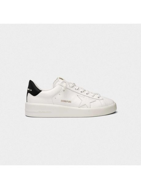 GOLDEN GOOSE Sneakers Uomo Purestar bianca/nero
