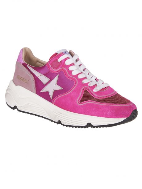 GOLDEN GOOSE Sneakers Donna Running Sole rosa