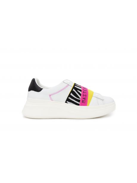 MOA Sneakers donna Double Gallery zebra