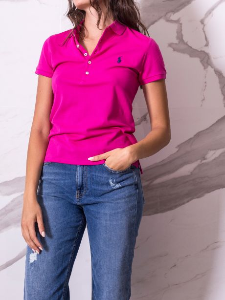 Polo Ralph Lauren Polo Slim-Fit accent pink