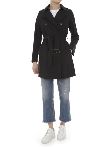RRD Cappotto CITY TRENCH LADY blu