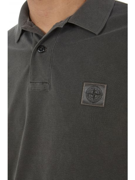 STONE ISLAND 22S67 Polo slim fit grigia