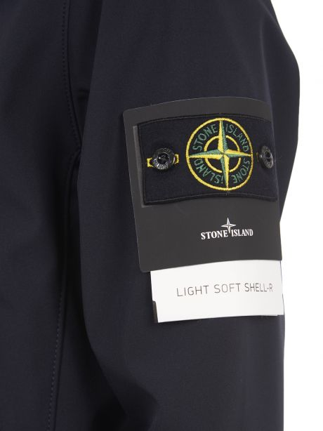 STONE ISLAND 40927 Giubbotto LIGHT SOFT SHELL-R blu