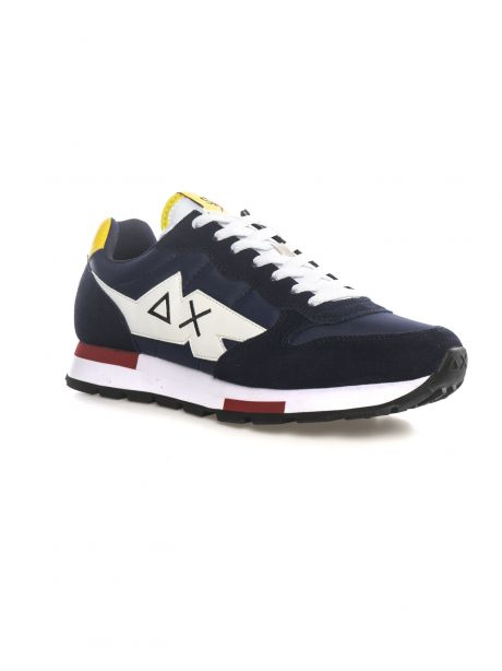 SUN68 Sneakers uomo TOM SOLID MULTICOLOR NAVY BLUE
