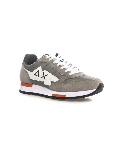 SUN68 Sneakers uomo TOM SOLID MULTICOLOR GRIGIO MEDIO