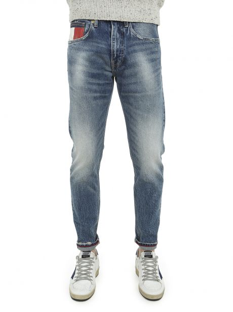 Tommy Jeans jeans scanton slim fit sbiaditi stile 90s