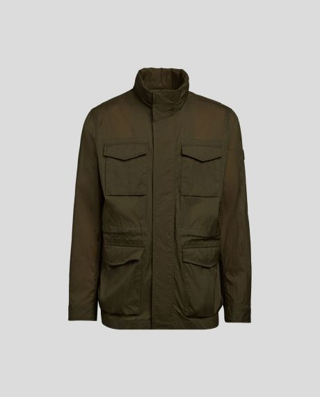 WOOLRICH Giacca uomo Light Field verde scuro