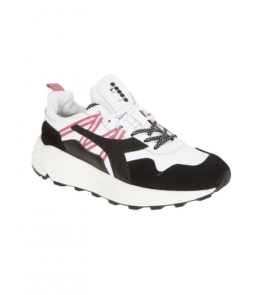Resembles Biscuit tofu  Buy DIADORA Sneakers uomo RAVE LEATHER POP white black — Paris Ricci  Worldwide